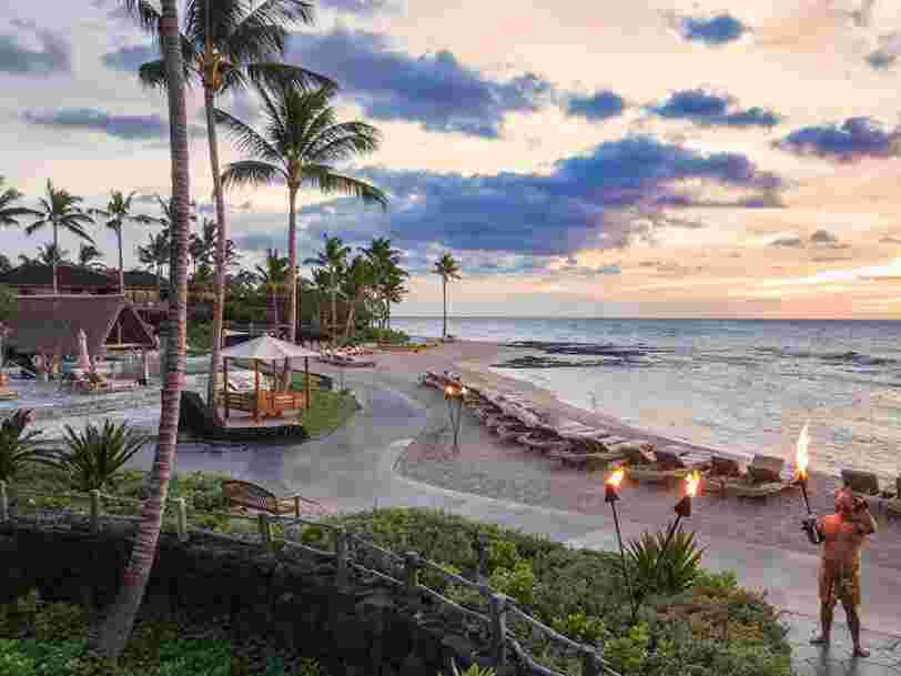 Take a look inside the best hotel in the US, a Hawaiian resort with 7 swimming pools where a villa goes for $18,000 per night