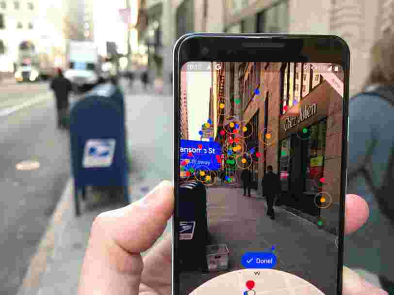 We tried Google's new augmented reality feature for Maps that's currently available only on its Pixel smartphones, and we don't know what we'd do without it.