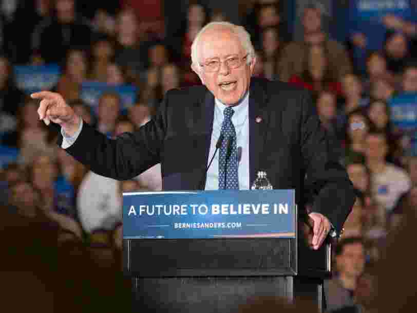 Bernie Sanders would be the oldest president in US history