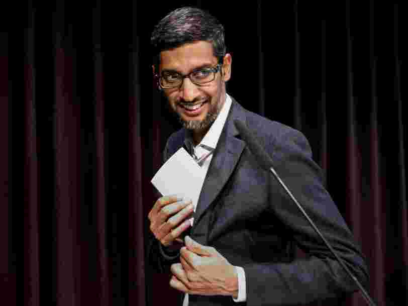 Here's what Google CEO Sundar Pichai carefully avoided talking about during his Google IO speech