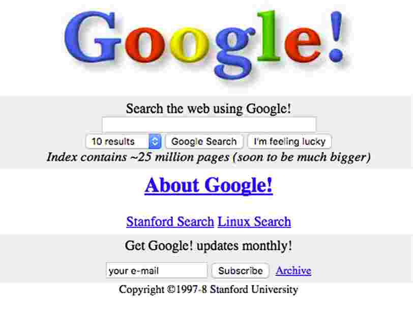 Here's what 25 popular websites used to look like back in the day
