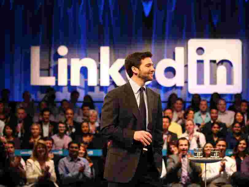 LinkedIn CEO Jeff Weiner is stepping down and will be replaced by the exec in charge of product