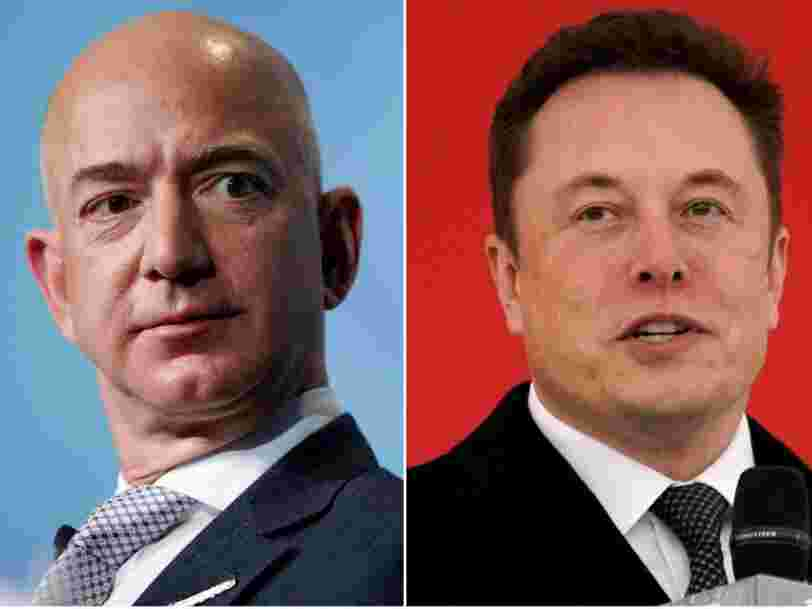 NASA has picked Elon Musk's SpaceX and Jeff Bezos' Blue Origin to design lunar landers