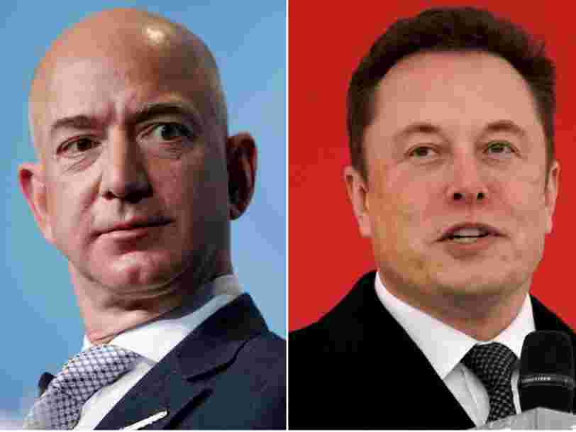 Elon Musk just trolled Jeff Bezos on Twitter, and it could reignite a years-old feud between the billionaires