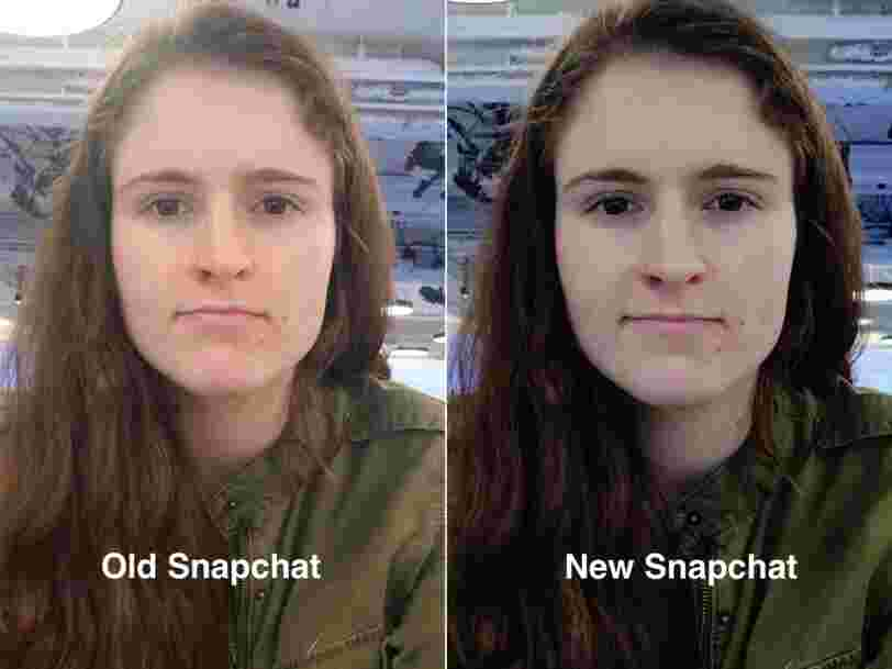 Snapchat's big Android update has completely revamped the camera