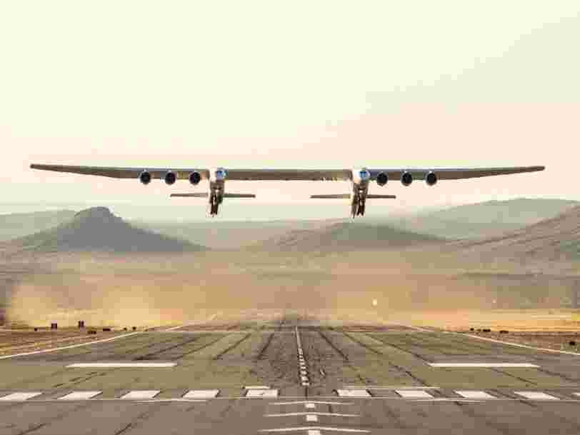 Inside the world's largest plane, which has a wingspan longer than a football field and a mysterious new owner