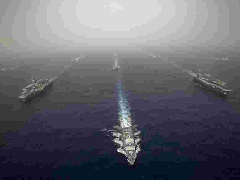 The US Navy just sent Russia a powerful message — with 2 aircraft carriers