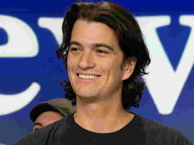 WeWork confidentially filed to go public