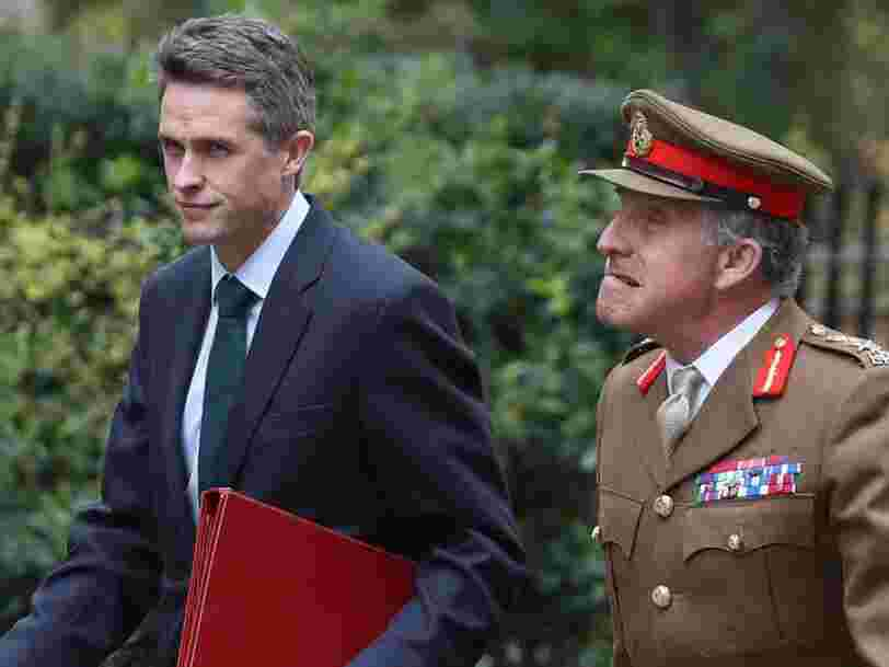 Gavin Williamson 'wanted to invade Africa' and risked war with China, say May allies