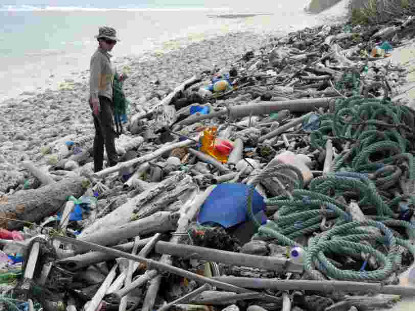 Scientists found 414 million pieces of trash on these tiny islands in the Indian Ocean - more proof that the plastic problem is out of control