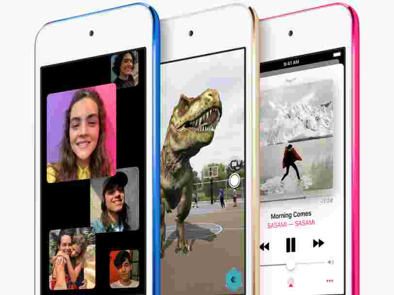 Apple just released a new iPod touch for the first time since 2015