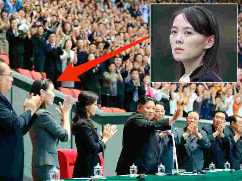 Kim Jong Un's mysterious sister, who helps him govern but was rumored to have fallen from favor, just appeared next to him at a major event