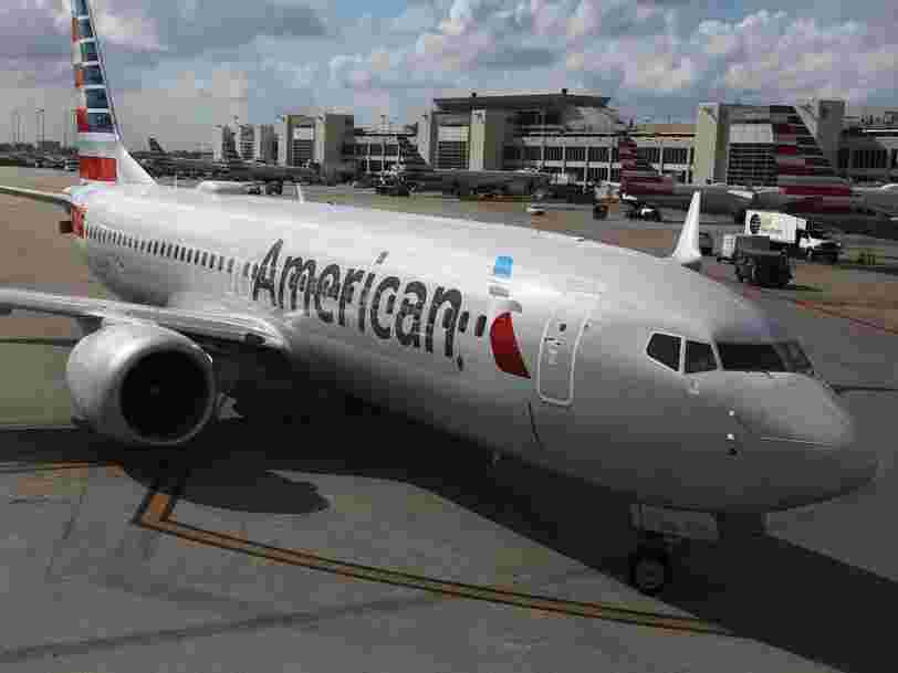American Airlines is suspending its first route because of the 737 Max grounding