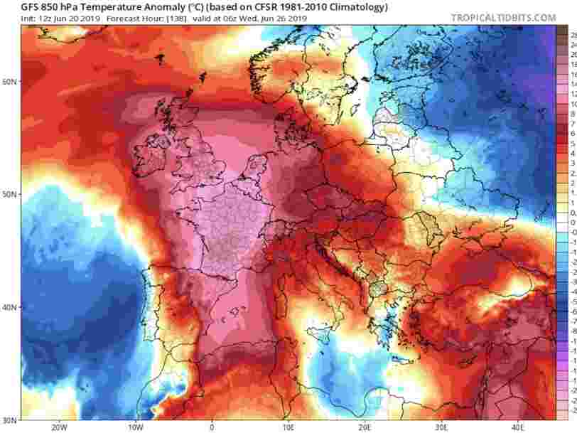 'Hell is coming': Western Europe battles unprecedented heat wave as France records its highest temperature in history