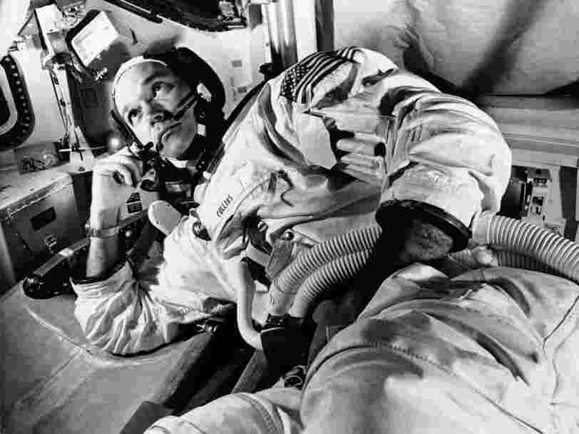 There was no toilet on the Apollo moon missions —here's how the astronauts went to the bathroom