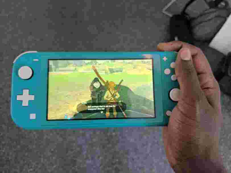 Nintendo just released the new $200 Nintendo Switch Lite — here's how it compares to the original