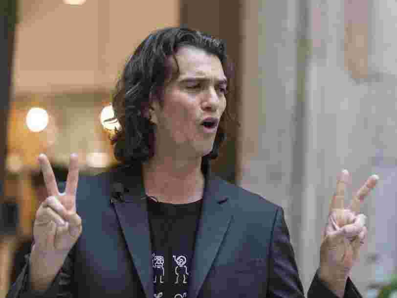 WeWork may soldier on with its IPO despite reports that it's slashing its valuation by more than half