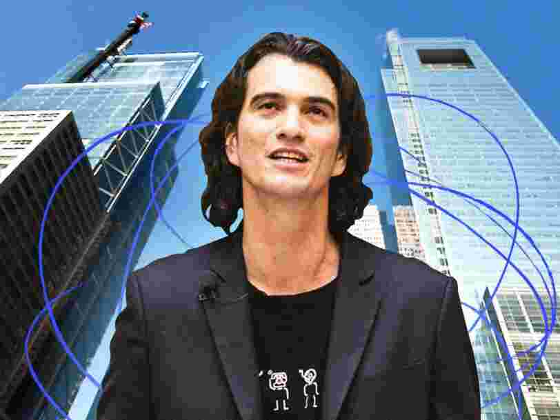 Adam Neumann gives up most of his voting power and steps down as WeWork's CEO, saying intense public scrutiny of him was a 'distraction.' 2 execs will permanently replace him.