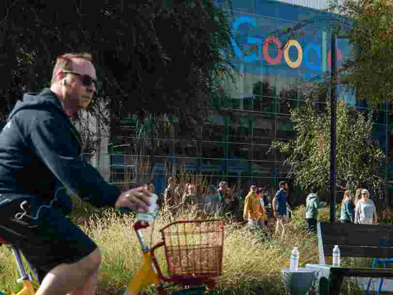 Google employee tests positive for the coronavirus as the company further restricts employee travel