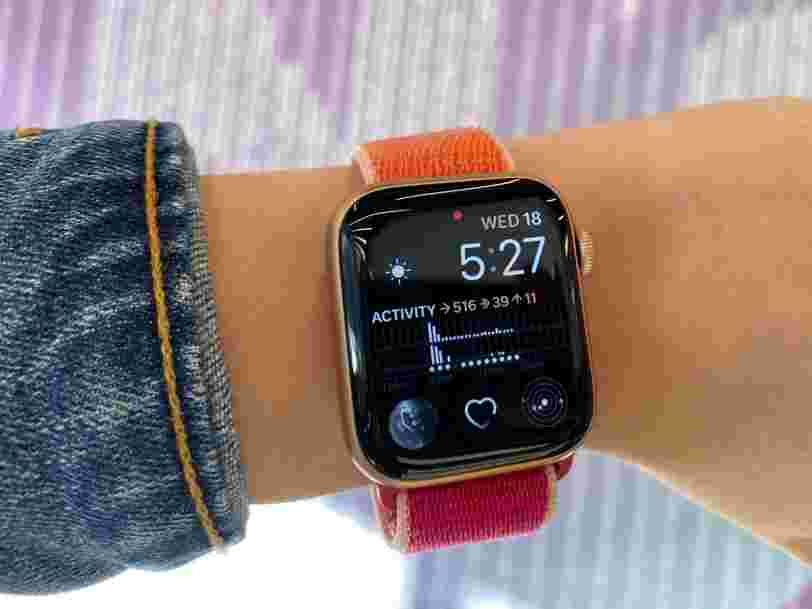 I've only been using the new Apple Watch Series 5 for a few hours, but I can already tell its new display is going to be a game-changer