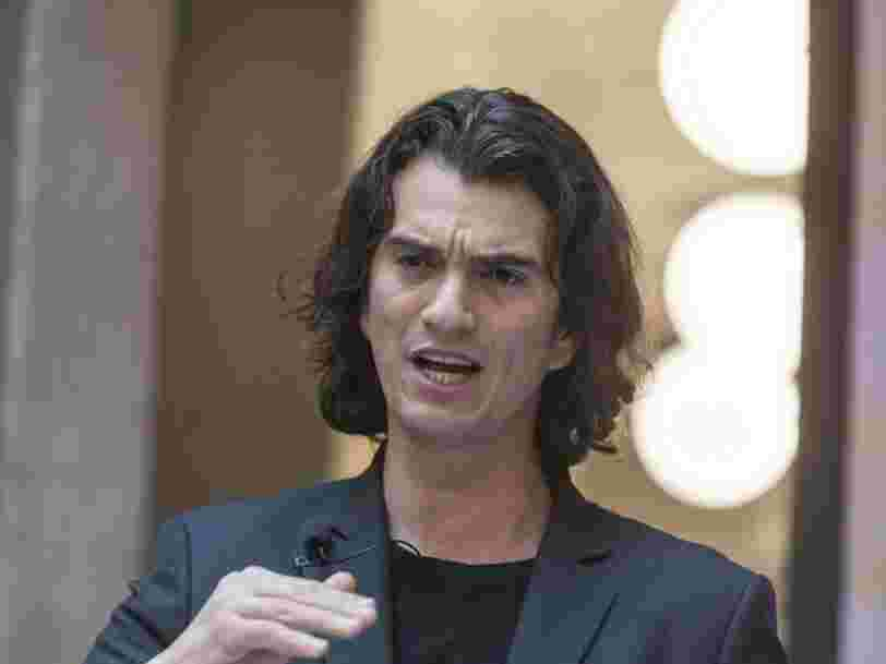 Forbes just revoked Adam Neumann's billionaire status and lowered its estimate of his personal net worth to $600 million — which means his purported net worth has plummeted by $3.5 billion in just 7 months