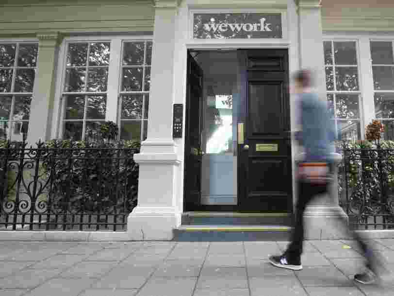 Leaked emails reveal WeWork was warned about potentially dangerous phone booths tainted with formaldehyde as early as August