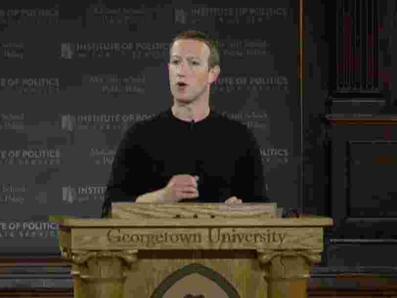 Mark Zuckerberg claimed Facebook was founded with political expression in mind. A former Facebook exec called that 'pretty obviously incorrect.'