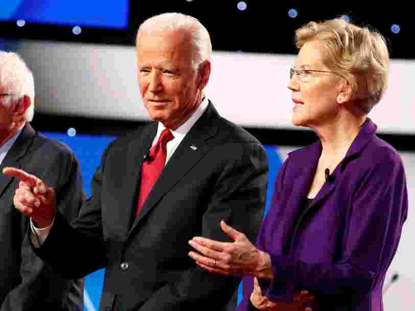 Joe Biden and Elizabeth Warren slammed Mark Zuckerberg for his remarks on free speech and said Facebook is spreading lies that could impact the 2020 election