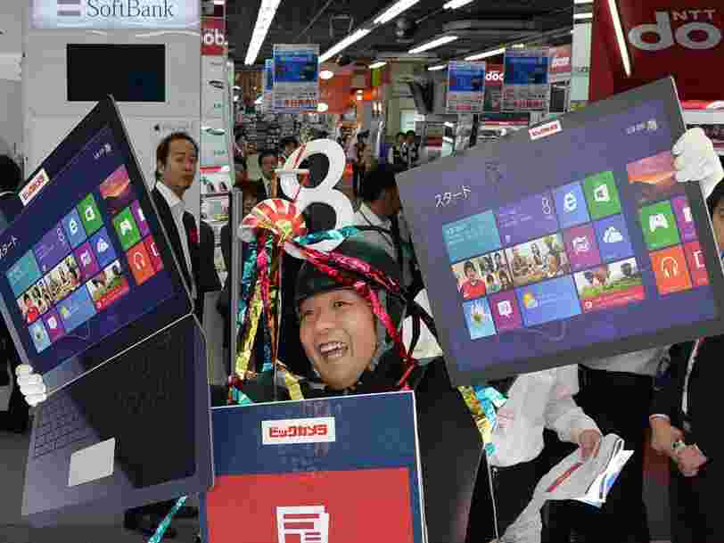 Microsoft Japan trialed a 4-day workweek over the summer and says it saw a 40% increase in productivity from its staff