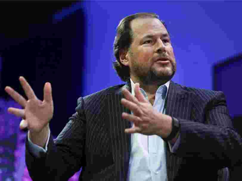Salesforce signs a big new deal with Microsoft's cloud to power one of its core products