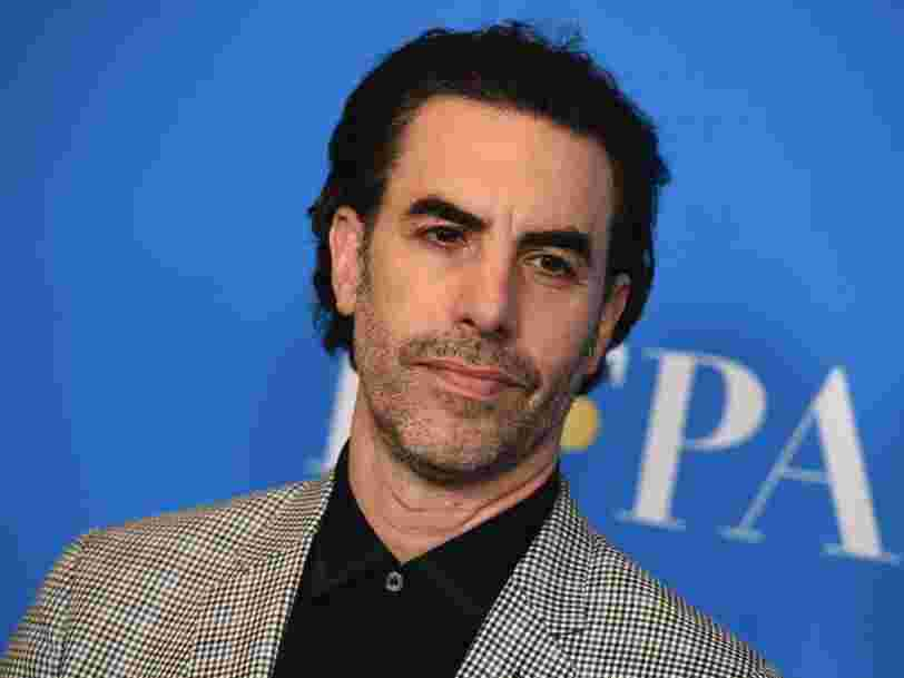 Sacha Baron Cohen just called out the 'Silicon Six,' a group of American billionaires that he says 'care more about boosting their share price than protecting democracy'