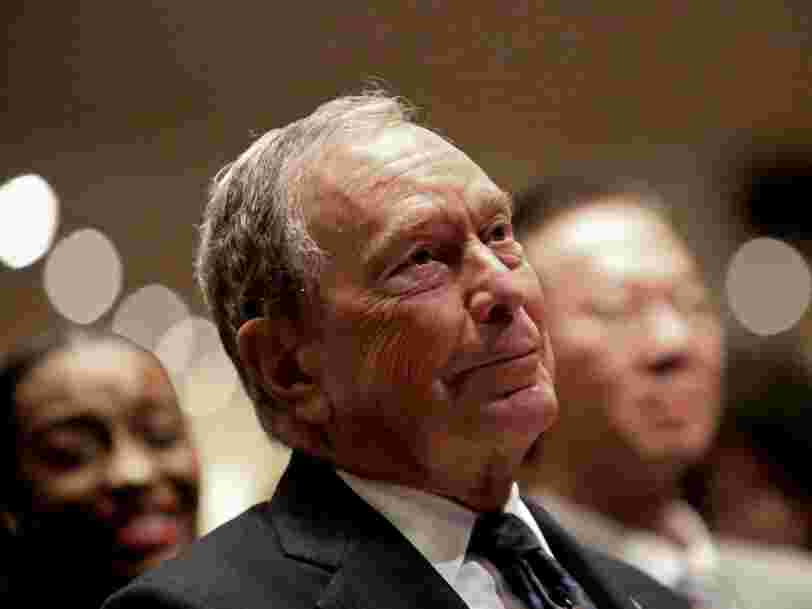Mike Bloomberg spent more on TV ads in one week than nearly all of his potential Democratic candidates have in a year
