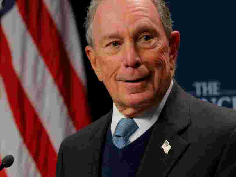 Michael Bloomberg says he will not accept political donations in his 2020 campaign or a presidential salary if he wins