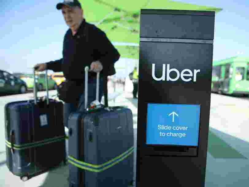 Some Uber drivers are refusing to pick up airport passengers because of coronavirus fears