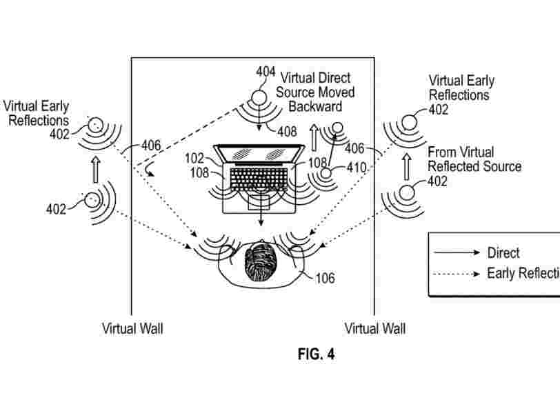 Apple has an idea for immersive audio technology that could one day play an important role in its big plans for augmented reality
