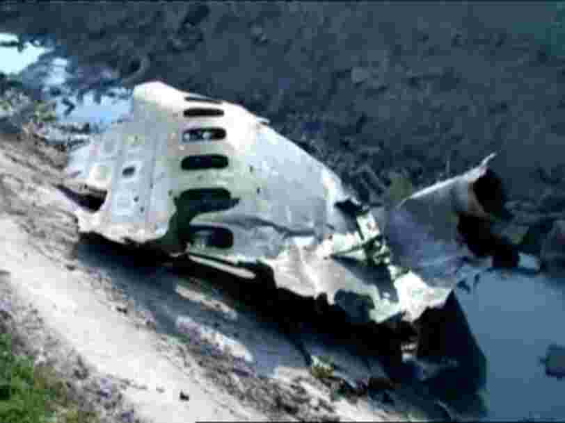 An Iranian general said officials lied about shooting down a Ukrainian passenger jet to defend national security
