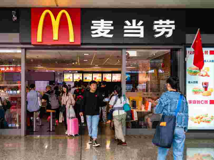 McDonald's 'suspends business' in five Chinese cities as the coronavirus death toll continues to rise