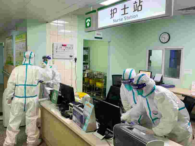 Hospital staff in Wuhan are wearing adult diapers because they don't have time to pee while caring for an overwhelming number of coronavirus patients