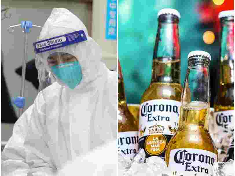 People seem to think Corona beer is related to the deadly Wuhan coronavirus outbreak, as searches for 'Corona beer virus' are trending
