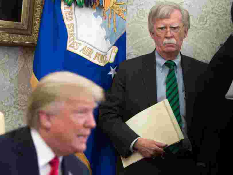 Trump calls John Bolton's new book 'nasty & untrue' and says 'if I listened to him, we would be in World War Six'