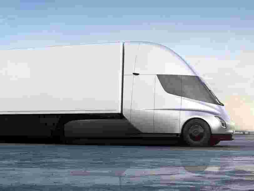 Tesla says you'll start seeing its futuristic Semi on the road this year