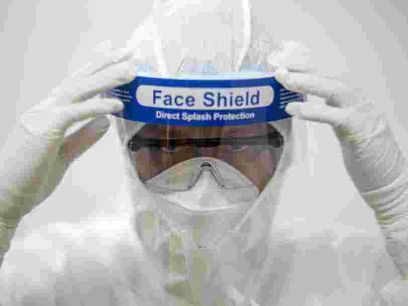 Nike is prototyping face shields for doctors and nurses in Oregon as the coronavirus rips through the globe