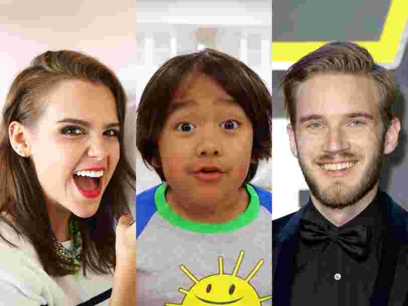 From PewDiePie to Shane Dawson, these are the 26 most popular YouTube stars in the world