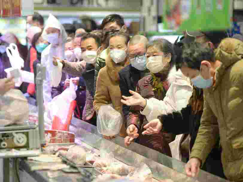 Amid the coronavirus outbreak, China is now also fighting deadly bird flu in chickens
