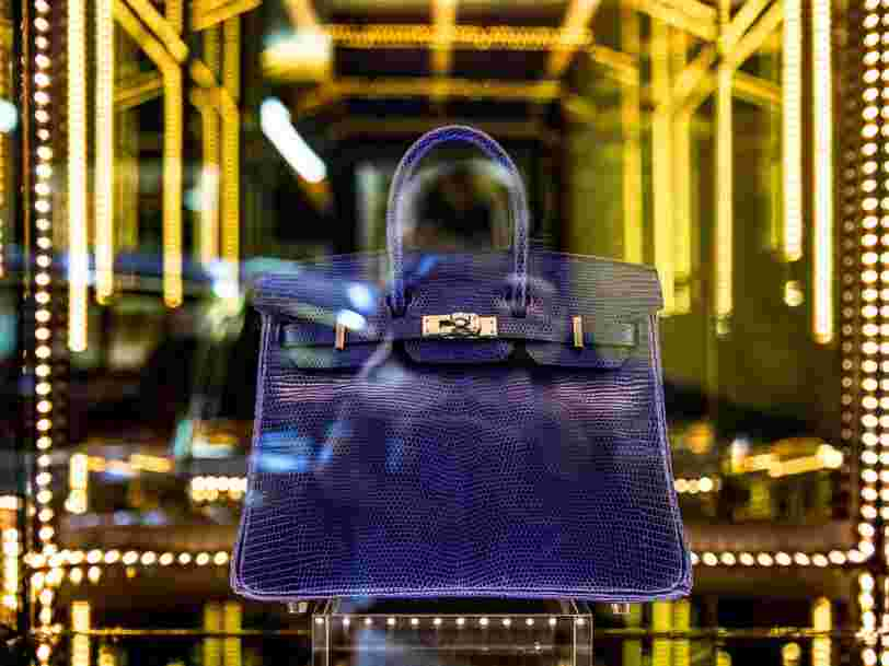 You can now buy 'stock' in a rare $52,500 Hermès Birkin bag, thanks to an online investing app — here's how it works