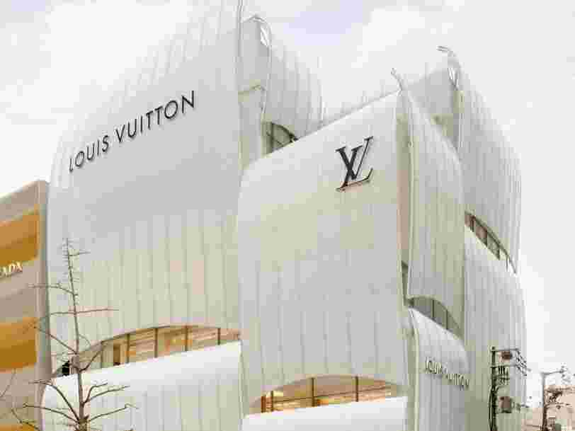 Take a look inside Louis Vuitton's first restaurant