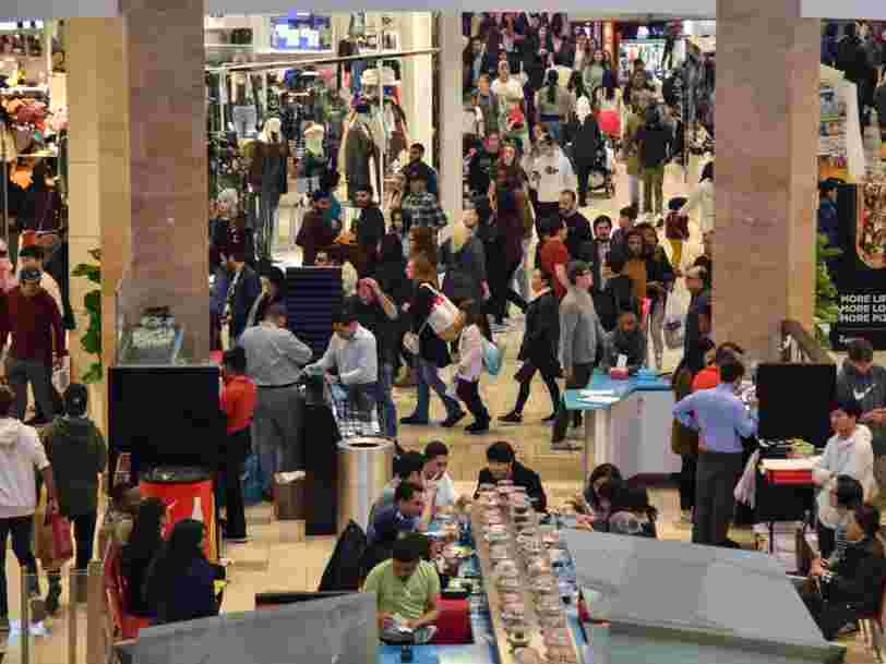 Coronavirus threatens US malls as nearly six in 10 shoppers plan to avoid such areas if the outbreak worsens, survey says