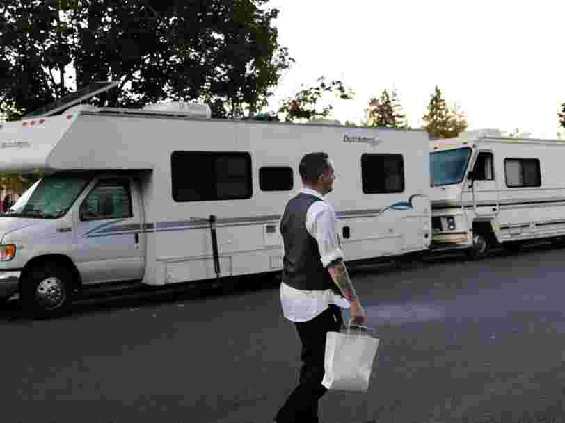 San Francisco will temporarily house members of its homeless population who are infected with the coronavirus in RVs for self-quarantines