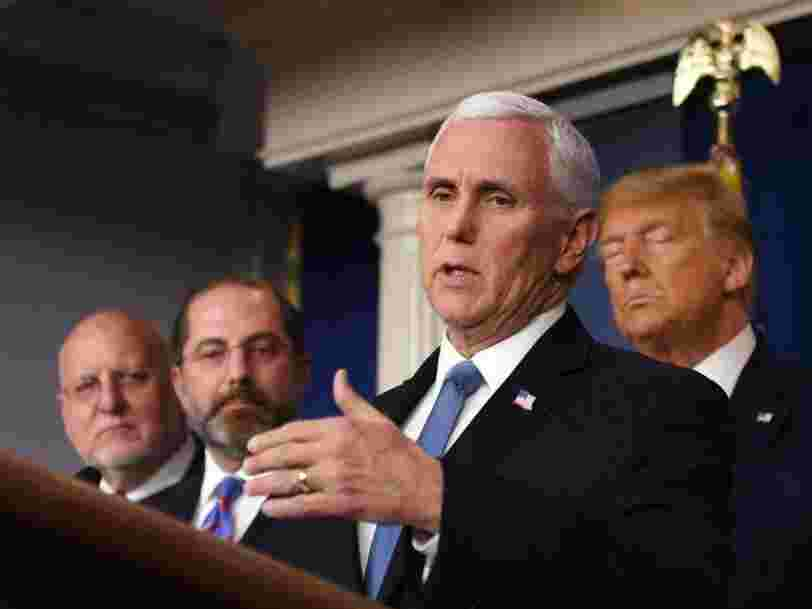 Mike Pence blocked health officials from going on CNN to pressure the network to air Trump's full coronavirus briefings