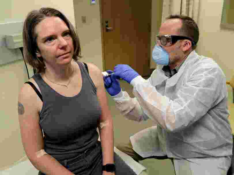 The first trial of a potential coronavirus vaccine just started in Washington state. It will take at least a year to know if the vaccine works.